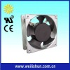 AC computer fan flow rate 80x80x25mm