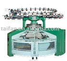 Interlock(double knit) open width knitting machine