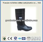 pvc black winter working wellingtons boot
