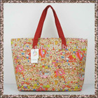 Cotton Wide Strap Bag Tote