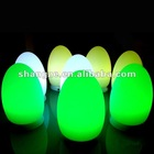 Rechargeable LED Egg Light/ RGB LED Night Light/Waterproof Plastic LED Christmas Light