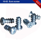Euro metal screws