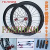 700C Full Carbon Wheel set/Clincher Wheelset/50mm/Shimano or Campagnolo cassette body/Chosen hub