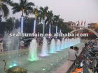 Musical Dancing Fountain in Youth Park, Hanoi Vietnam