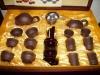 Yixing purple clay teapot (kongfu set)
