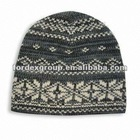Rochester Fairisle Ski Cap, Measuring 7 x 9 Inches