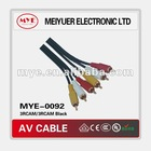 Hot sale Economical 3rac/3rac AV cable