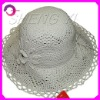 Flower pattern summer polyester beach hat RQ-A494