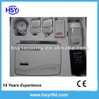 Wireless Home Security GSM Alarm System with 4 wired and 6 wireless zone