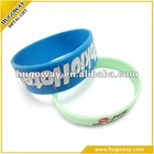 2012 hot sale beautiful printed silicone bangle