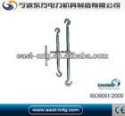 Steel Double-Hook Turnbuckle / Steel Rope Turnbuckle