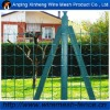 PVC coated Euro wire mesh for meat rabbit farms (manufactory)