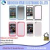 Accept paypal Bumper With Metal Button case cover for iphone 5