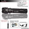 500lumens five mode 280 meters rechargeable XM-L T6 flashlight TANK007 PT10