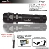 500lumens five mode 280 meters rechargeable XM-L T6 flashlight TANK007 PT10