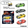 1:43 pull back die cast model car