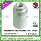 HOT !! LH432 E27 porcelain aluminium lamp holder