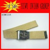 Unisex Belts Canvas Fabric