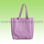 Promotional New Style Pink PVC Shopping Bag