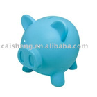 cute plastic pig coin jar