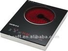 No radiation 4 digital display sensor touch control 2000W electric hob