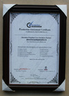 Product Assessment Certificate by BV from E.U.