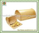 wooden bread bin with Knife