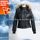 2012 Winter european classic fashion warm women duck down jacket with real big racoon fur