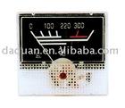 panel meter (voltmeter)
