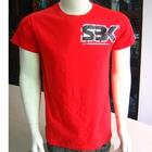 100% combed cotton men's slim fit T-shirts