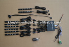 NEW 8pc LED motorbike pod kits with multi fuction RGB controller