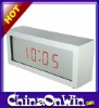 LED Display Mirror Faced Digital Alarm Clock