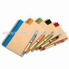 Promotional spiral notebook/recycle