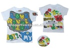 Fashion Printed Child T-Shirt / Boy t-shirt / Children Summer Wear