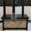 G050-30.72 Chinese Handmade Antique Bathroom Cabinet (short)