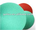 Green film base abrasive disc