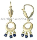 earring jewelry with CZ stone