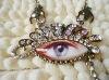 crystal eye necklace