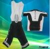 Custom made cycling jersey and bib shorts