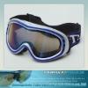2013 new fashion cheap ski goggle with silicone strap