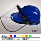 industrial helmet with PC face shield