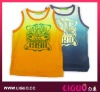 New fashion boys vest tank top, Kids wear