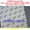 Best Quality, Laird Thermal Silicon Pad Tflex 700 Series Gap Filler Material 23CM*23CM*2MM For Laptop, Desktop, Chip, etc