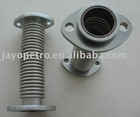 Corrugated pipe for fuel dispenser