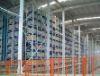 Roboticized storage system for warehouse or workshop using