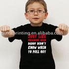 Good Quality Cute Children's C-shirt Design