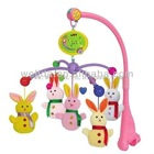 cute animals musical baby mobile toy