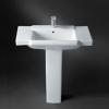 Wash Basin & Pedestal HDLP155