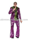 men's costume for Disco singer (09-398P)
