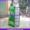 KingKara KADRS013 Green Metal Drinking Display Rack for Promotion